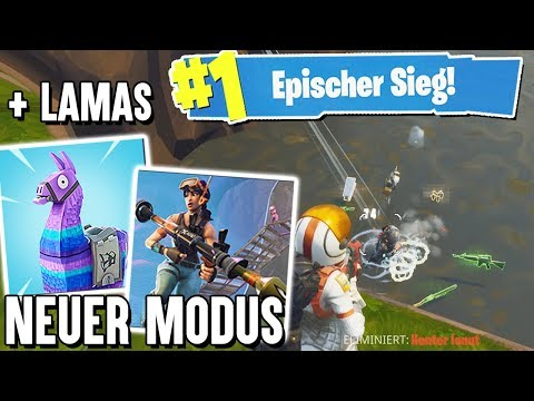 NEUER MODUS + LAMAS in Fortnite Battle Royale