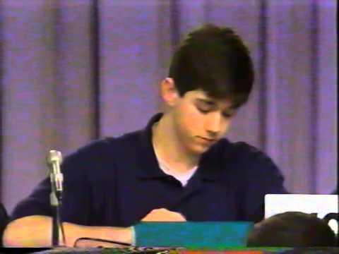 Cox Communications Academic Challenge 1998 - Woodham vs. Escambia