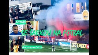 SE ŠÁRKOU NA FOTBAL: FC Fastav Zlín - AC Sparta Praha