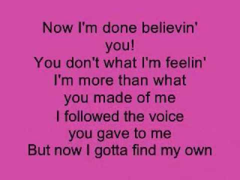 Listen - Beyonce (Lower Key) Karaoke