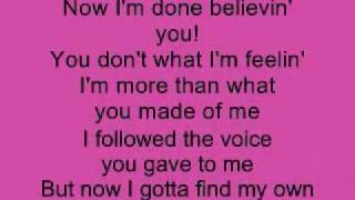 Download Listen - Beyonce (Lower Key) Karaoke MP3 song and Music Video