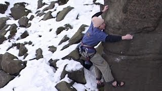 James Pearson on Sending Sketchy Climbs in His Youth | HARDXS from Slackjaw Film, Ep. 1