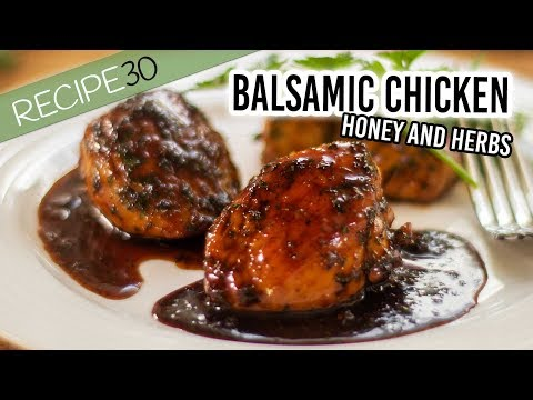 Balsamic chicken breast