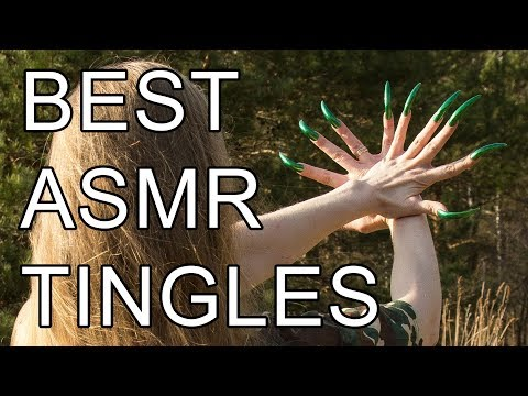 Best ASMR tingles, triggers forest & long claws nails