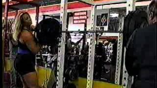 Robin Coleman 218 lb Overhead