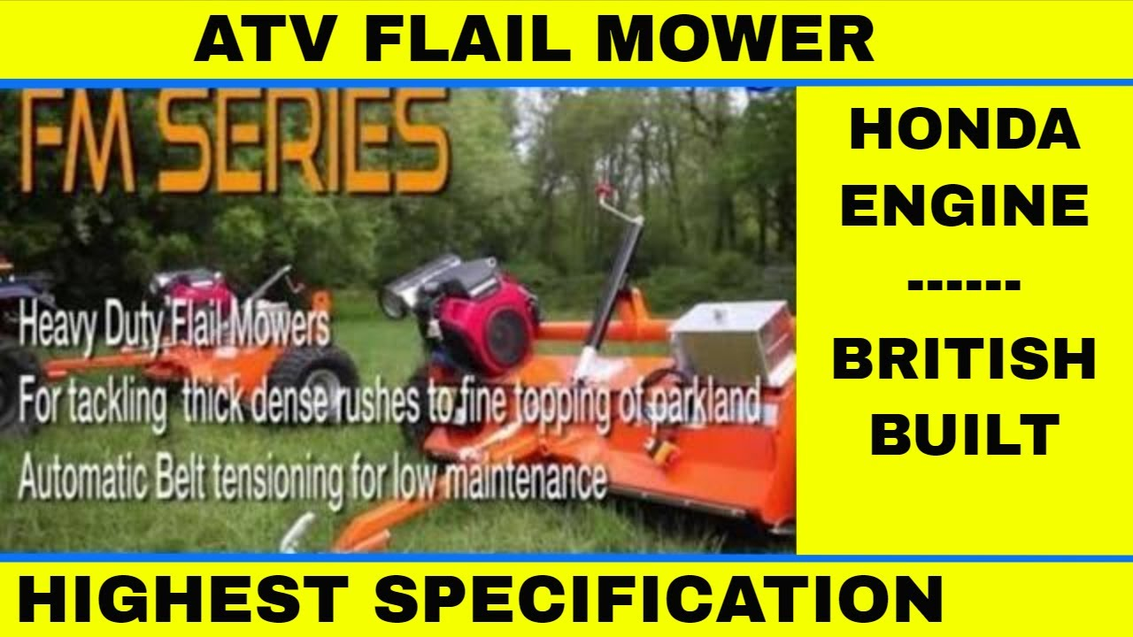 Flail Mower for paddock topping