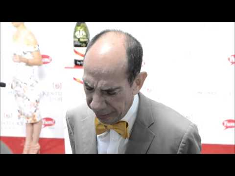 Actor Miguel Ferrer on the Kentucky Derby red carpet