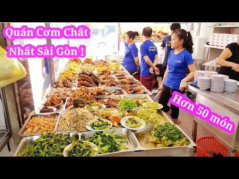 Bất ngờ với quán cơm bình dân hơn 50 món ngon 5 người bán không kịp ở Sài Gòn