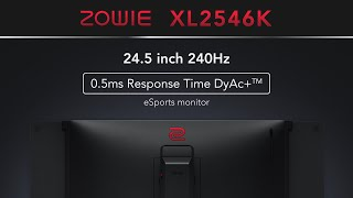 THE BEST 240Hz E-Sports Gaming Monitor You CAN FINALLY Buy! - BenQ ZOWIE XL2546K