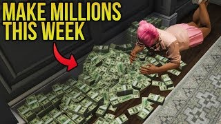 VIP DOUBLE MONEY WEEK! How To Make Millions This Week in Solo Invite Only Lobbies!
