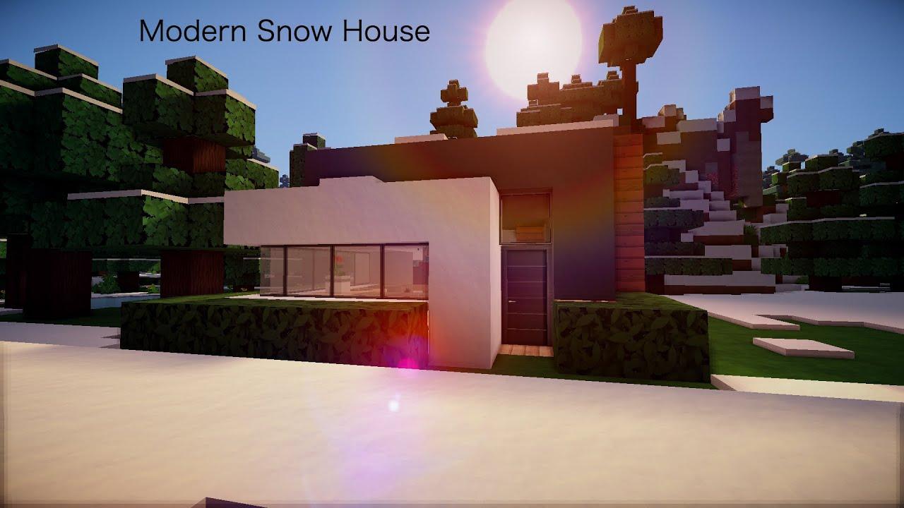 Minecraft: Minecraft Modern Snow - 172.5KB