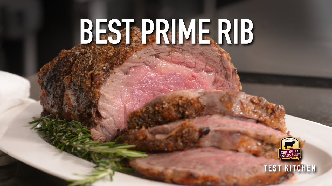 How To Cook The Best Prime Rib Roast Youtube