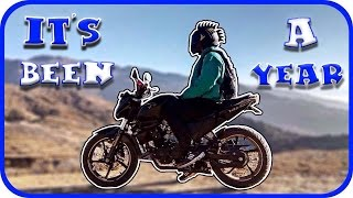 1 year ownership review of the fz v2 0   12000 km   motovlog   nepal