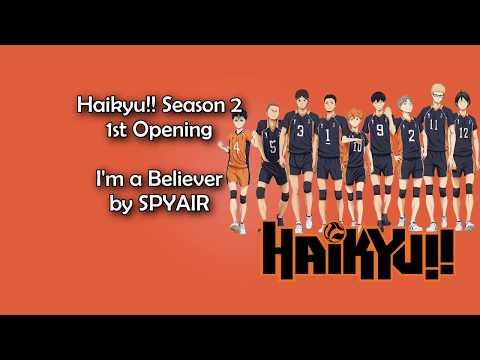 Haikyuu!! Season 2 Op 1 I'm A Believer Lyrics