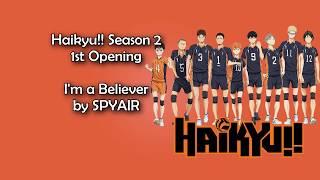 Cover images Haikyuu!! Season 2 OP 1 - I'm a believer Lyrics