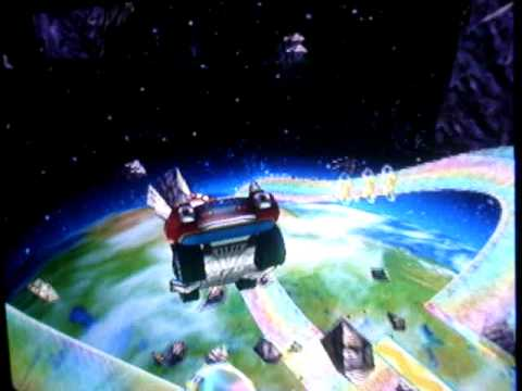 MKWii Rainbow Road Flap 48 305