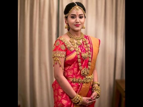 Pink Colour Bridal Silk Sarees Youtube