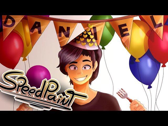 ?SPEEDPAINT? -   feliz cumpleaños jama¡¡ ^w^