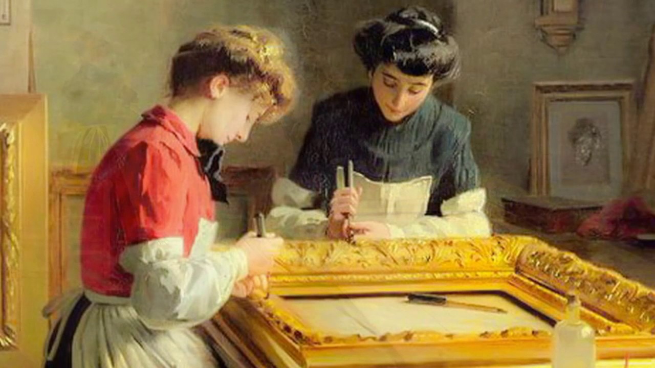 Louis Emile Adan, pintor - YouTube