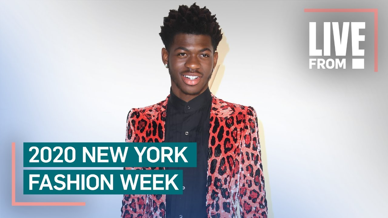 Lil Nas X on Becoming Fashion Icon With Christian Cowan's Help   NYFW   E! Red Carpet & Award Shows