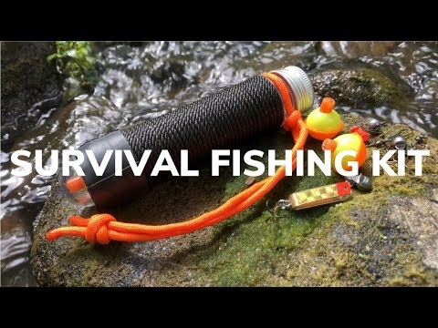 DIY Ultralight Pocket Fishing Kit, Stow It Anywhere!