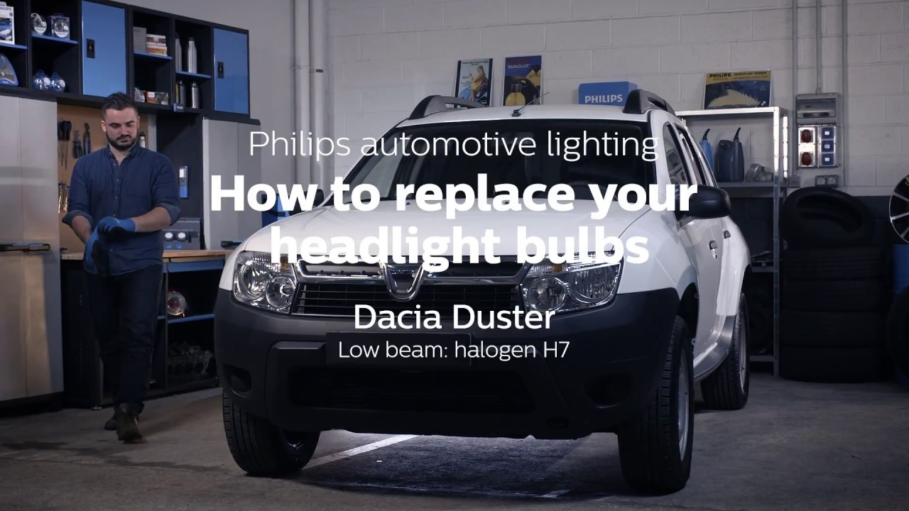 How To Replace Headlight Bulbs On Your Dacia Duster
