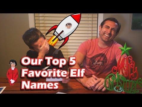 Our Favorite Elf on the Shelf Names Submitted by Viewers.