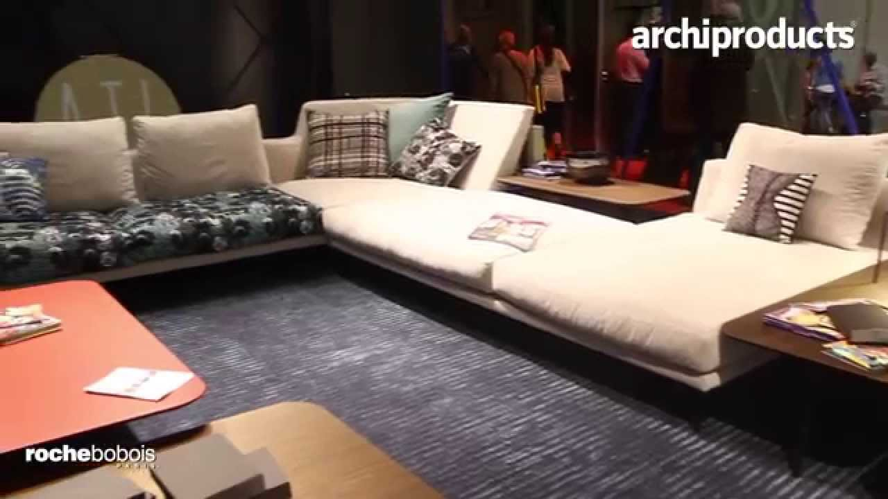 roche bobois milan 2015 youtube. Black Bedroom Furniture Sets. Home Design Ideas