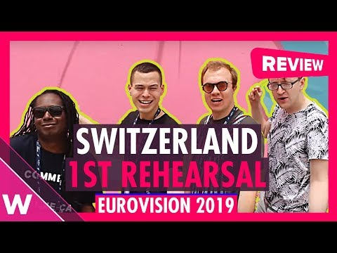 "Switzerland First Rehearsal: Luca Hänni ""She Got Me"" @ Eurovision 2019 (Reaction) 