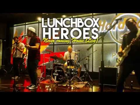 """""""Never coming home"""" - Lunchbox Heroes Live @ Hard Rock Cafe Panamá"""