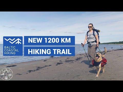 New long distance hiking trail in Estonia Baltic Coastal Hiking