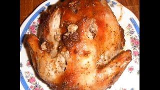 Курица в пакете в микроволновке