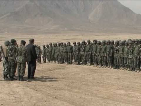 Secretary of Defense Robert Gates Visits Training Site in Afghanistan
