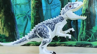 LEGO DINOSAUR ZOO! JURASSIC WORLD DINOSAUR TOYS for kids