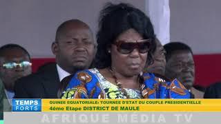 GUINEE EQUATORIALE TOURNEE DU PR OBIANG MAULE 7