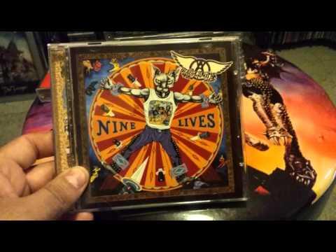 Aerosmith cd vinyl collection