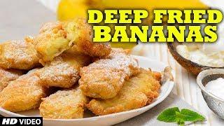 Deep Fried Banana with Sesame Seeds | Wang Lang - Bangkok