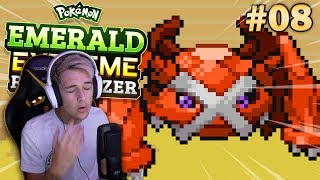 Pokemon Emerald Extreme Randomizer • A POWERFUL ENCOUNTER! • #08