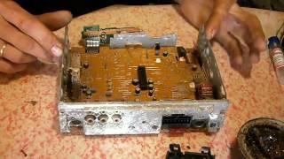 Ремонтируем автомагнитолу Sony