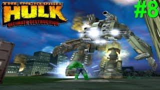 The Incredible Hulk: Ultimate Destruction PS2 Gameplay #8 [Hulk vs General Ross]