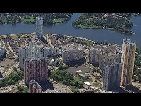 Полет над летним Красногорском 2019