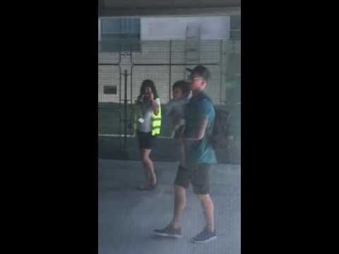 Real Madrid superstar Sergio Ramos arrives in Montenegro with his son!