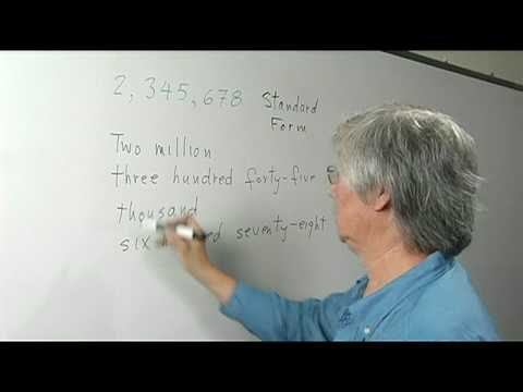Math Definitions : What Is Short Word Form in Math? - YouTube