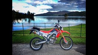 Exploring the Trossachs by Honda CRF 250L - Episode 1: Loch Katrine to Loch Lomond