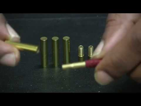 Applying Round Cylinder Aglets to laces - Tips and How To