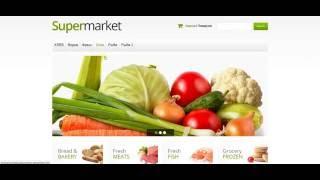 Готовый интернет магазин продуктов.(Готовые сайты 1000 руб на http://dizes.ru/ Готовые интернет- магазины 2500 руб. с поставщиками в комплекте (Дропшиппинг), 2016-06-28T14:54:06.000Z)