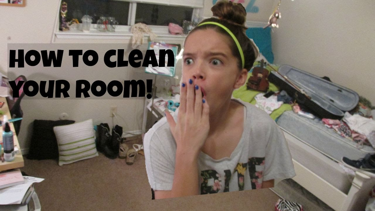back to school cleaning how to clean your room joyful julie ann youtube. Black Bedroom Furniture Sets. Home Design Ideas