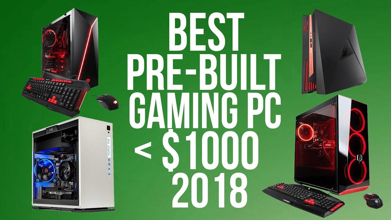 Best Prebuilt Gaming Desktop Pc Under 1000 Top 5 Budget Pre Built