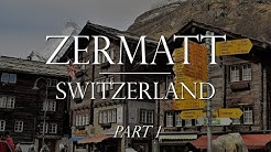 Zermatt Switzerland pt 1 of 2: Train from Tasch & Klein Matterhorn Lift