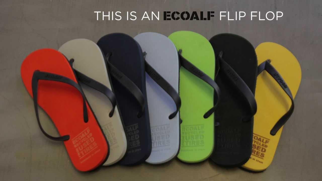 FLIP FLOPS CTCR y ECOALF - YouTube